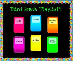 """The """"Playlist"""" For A Great Year! - Music Themed Back to School Bulletin Board Idea"""