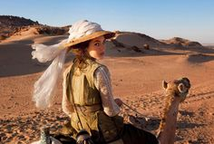 """film still of Louise Bourgoin in """"The Extraordinary Adventures of Adele Blanc-Sec"""""""