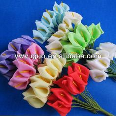 Small Calla lily flowers for wedding candy box decor US $0.01-0.9 / Piece