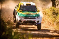 Equipe Mitsubishi Petrobras no Rally dos Sertões