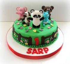 Mimo and Bobo concept Birthday Cake