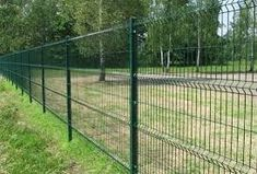 welded wire fence panels home Depot for dogs green sale Wire Fence Panels, Welded Wire Fence, Garden Fence Panels, Front Yard Fence, Garden Fencing, Fenced In Yard, Low Fence, Fence Plants, Fence Art