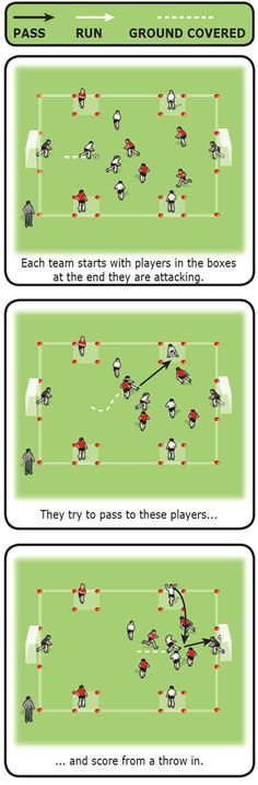 Throw-in frenzy game