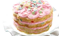 Download wallpapers Birthday cake, birthday, sweets, pastries, cakes