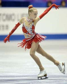Elena Radionova of Russia wins silver at NHK Trophy 2013.