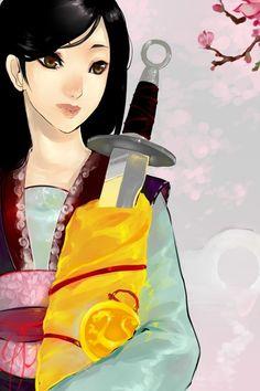 La chinoise au sabre