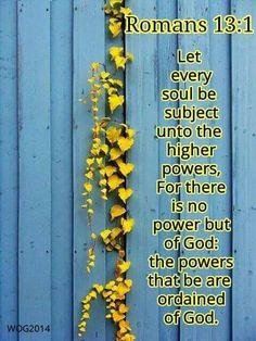 Romans 13:1 KJV