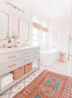 Bathroom Red, Bathroom Interior, Small Bathroom, Bathroom Ideas, Bathroom Organization, Bathroom Mirrors, Bathroom Cabinets, Bathroom Renovations, Grey Cabinets