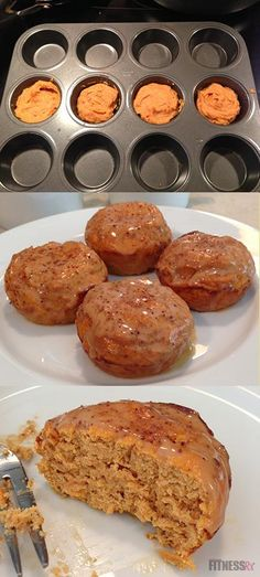 Protein Packed Breakfast Pumpkin Cinnamon Muffins - substitue the MyoFusion with whatever protein powder you have.  Good stuff.
