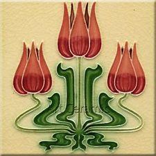 Art Nouveau style tile... very lovely!