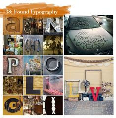"""FIDM weighs in on """"100 Ideas that Changed Graphic Design: Found Typography"""""""