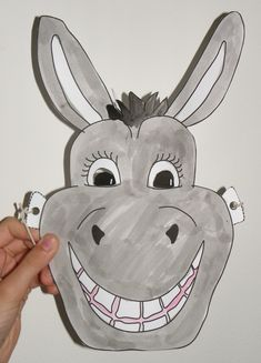 donkey mask encouraging pretend play and make believe pinterest