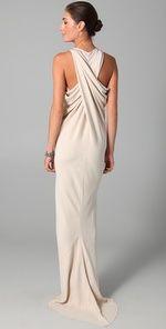 Maria Grachvogel Egrit Long Dress Source by vanessagade dresses ideas Mode Glamour, Evening Dresses, Formal Dresses, Long Dresses, Mode Chic, Mode Inspiration, Beautiful Gowns, Dress Me Up, Dress To Impress