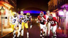 Alabama Football vs LSU