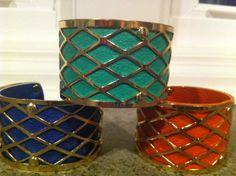 colorful cuffs $15 each! www.edit-kc.blogspot.com