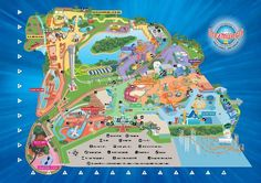 map of dreamworld gold coast - Google Search