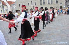 Estonia - National dance Folk dance