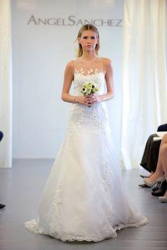 Designer: Angel Sanchez New York Bridal Fashion Week FW15,  October 2014