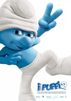 Clumsy Smurf | Poster