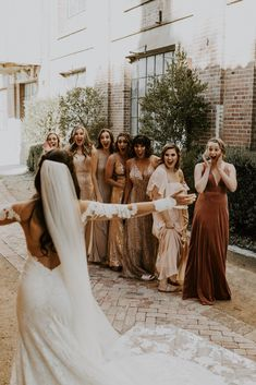 Kayla Esparza Wedding Photography + Videography - The colors and style here are out of this world! What a beautiful wedding party! Wedding Photo Pictures, Wedding Pics, Boho Wedding, Fall Wedding, Dream Wedding, Wedding Ideas, Party Wedding, Wedding Photography And Videography, Party Photography