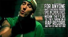 eminem lyrics i love him hes my favorite