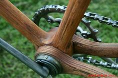 Old Hickory Cycle Chicago,Il 1898 restoration (all made of hickory wood)