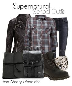 Designer Clothes, Shoes & Bags for Women Casual School Outfits, Punk Outfits, Teen Girl Outfits, Girls Fashion Clothes, Outfits For Teens, Cool Outfits, Nerd Clothes, Winter Outfits, Supernatural Inspired Outfits