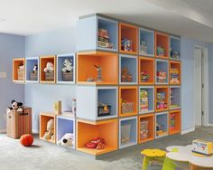 Great Ideas for Kids Toys Storage Paint Color Design