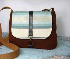Sedona  Crossbody messenger bag // Adjustable strap by atlaspast, $54.00