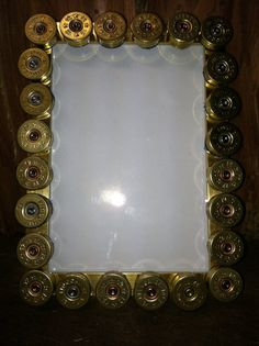 Shotgun Shell Picture Frame 5X7 by TheNethouse on Etsy, $8.00