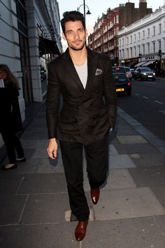 David Gandy out and about in London