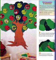 ESPAÇO EDUCAR: Modelos e moldes de chamadinha para a educação infantil, maternal etc.