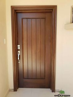 Single Door Design, Wooden Front Door Design, Home Door Design, Double Door Design, Door Gate Design, Door Design Interior, Wooden Front Doors, House Front Design, Internal Wooden Doors