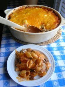 HAMBURGER 'N SHELLS ITALIA « The Southern Lady Cooks
