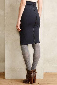 Ponte Pencil Skirt #anthrofave #anthropologie.com