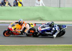 Pedrosa, Lorenzo, Valencia MotoGP Race 2013