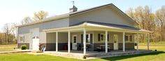 Barn Living Pole Quarter With Metal Buildings | Residential Buildings | Graber Buildings, Inc.
