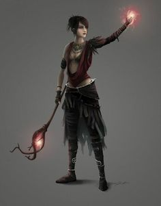 Morrigan From Dragon Age Origins