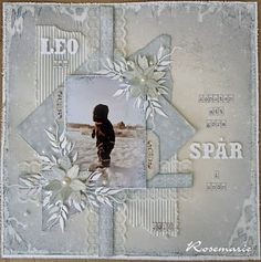 The winner of our January Challenge - Rosmarie's beautiful layout ♥