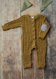 Knitted Angora Jumpsuit | Manoko on Etsy