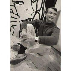 Roy Lichtenstein // photographed by Dennis Hopper //