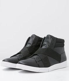Ghete Calvin Klein Sport Barbati Negre Calvin Klein, Puma Fierce, Mai, High Tops, High Top Sneakers, Slip On, Shoes, Fashion, Moda