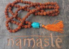 Japamala 108 contas - Rudraksha