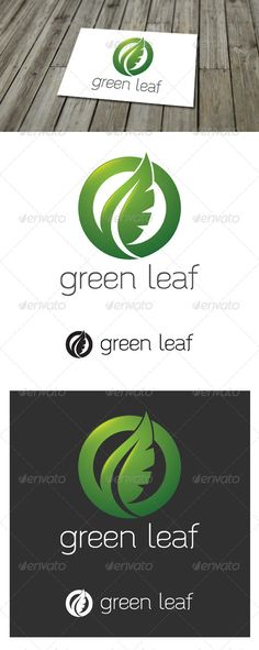 Green Leaf - Logo Design Template Vector #logotype Download it here: http://graphicriver.net/item/green-leaf-logo/5503365?s_rank=310?ref=nexion