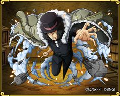 Rob Lucci – Battles of the Great Era of Piracy: Dark Justice One Piece Chapter, Lucci, One Piece Anime, All Anime, Cartoon, Character, Greece, Rock, Board