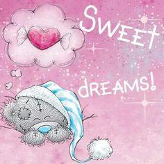 Good night sister and all, sweet dreams♥★♥. Cute Good Night, Good Night Sweet Dreams, Good Night Image, Tatty Teddy, Blue Nose Friends, Good Night Greetings, Good Night Wishes, Teddy Bear Quotes, Good Night Prayer