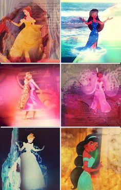 Disney Princesses   Beautiful and perfect for each of them!
