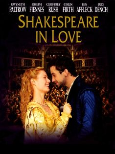 Shakespeare In Love (DVD / Gwyneth Paltrow / Joseph Fiennes Shakespeare In Love, William Shakespeare, Shakespeare Movies, Joseph Fiennes, Streaming Movies, Hd Movies, Movies To Watch, Movies Online, Hd Streaming