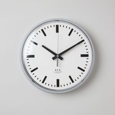 Grey Bar Simple design wall clock by Pacific Furniture Service