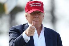 Trump Thumbs up--Why one should vote for Trump
